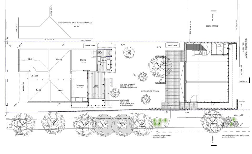 Botany Studio plan 1