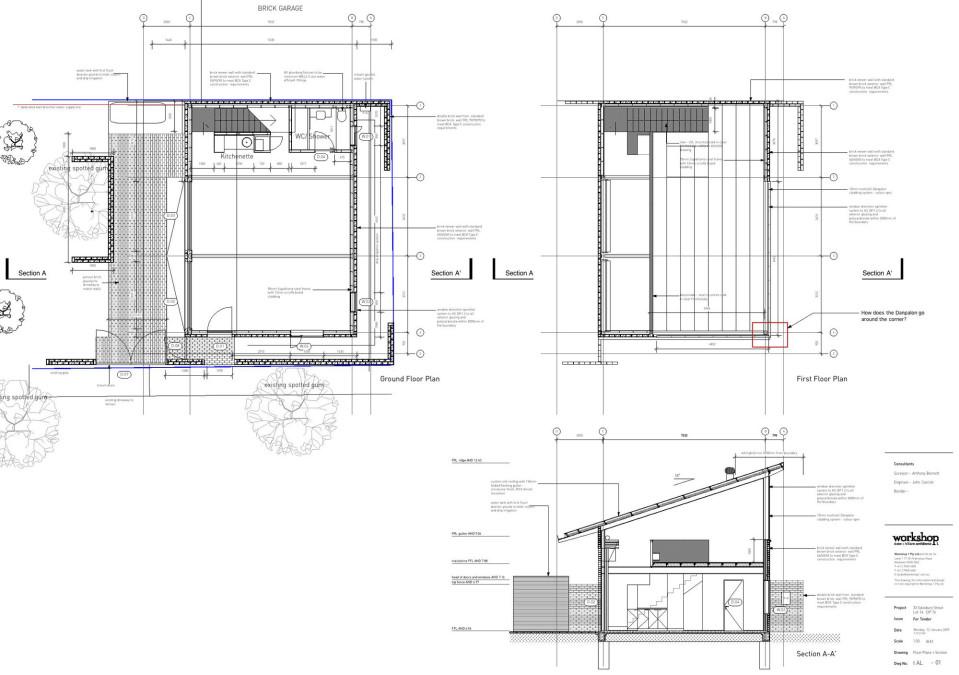 Botany Studio plan 2