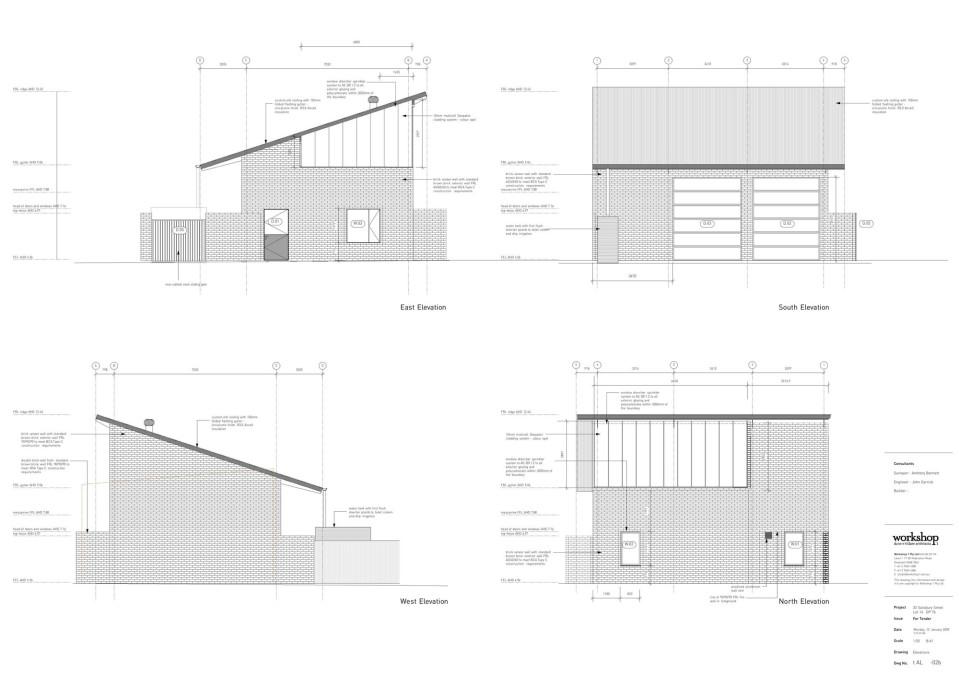 Botany Studio plan 3
