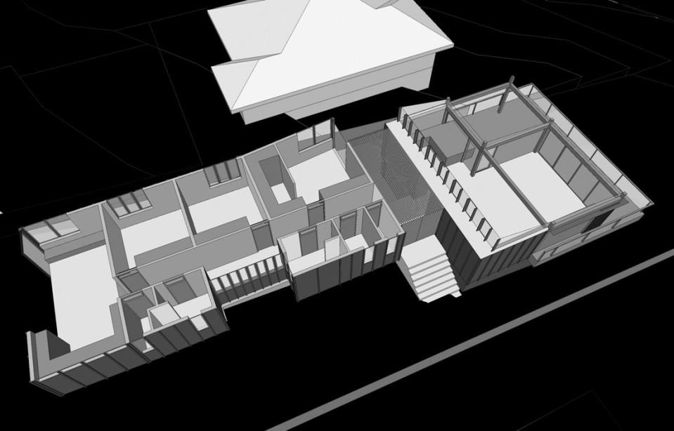 Mona Vale House plan 3d