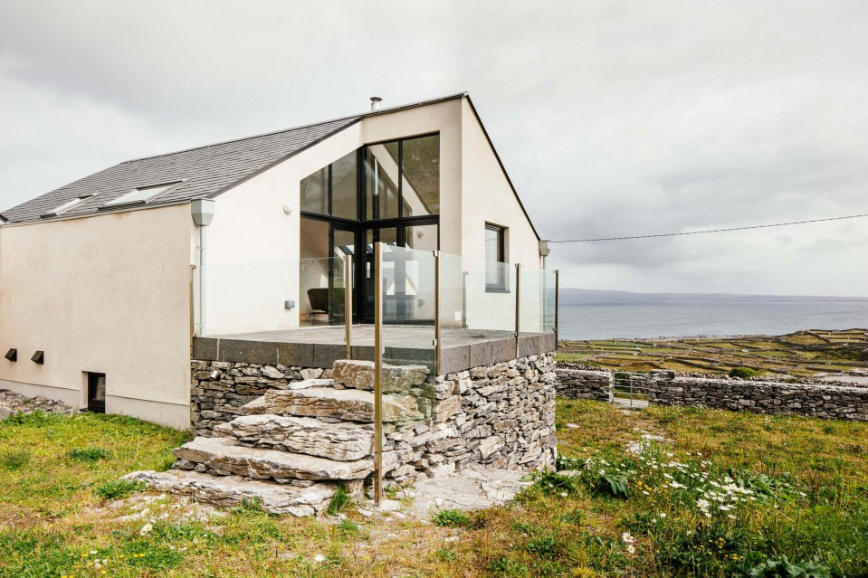 Eco new build house on the Aran Islands