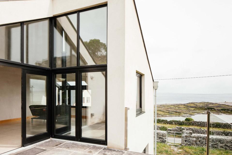 Eco new build house on the Aran Islands