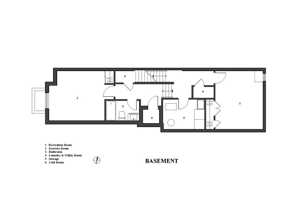 the linear house plan 1